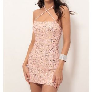 Lucy in the Sky sequin dress